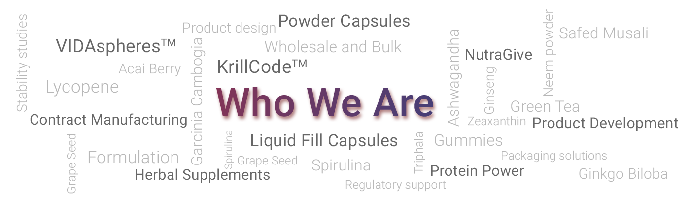 Who We Are | Nutraceutical Contract Manufacturer - Nutracode